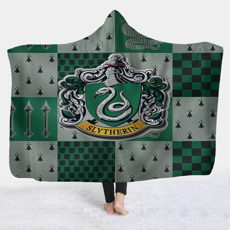 بطانية بغطاء للرأس مطبوعة ثلاثية الأبعاد ، 130 × 150 سم ، 150 × 200 سم ، صوف الفانيلا ، أغطية رأس ، لفصل الشتاء ، دافئة ، سرير أريكة ، في الهواء الطلق