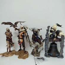4 typ Assassins Creed Bayek Aya Figur Altair Conner Action Figure Legendären Spielzeug Modell Spielzeug Geschenk