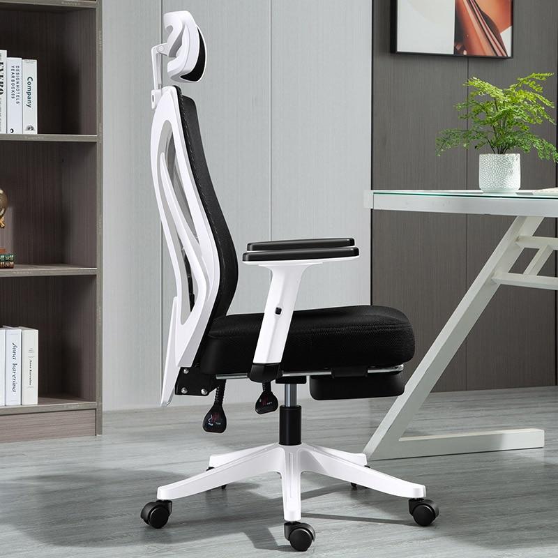 Домашний компьютер, роскошный скандинавский игровой офисный стул, Поворотный Смеситель для спальни, офисные аксессуары для дома BE50WC