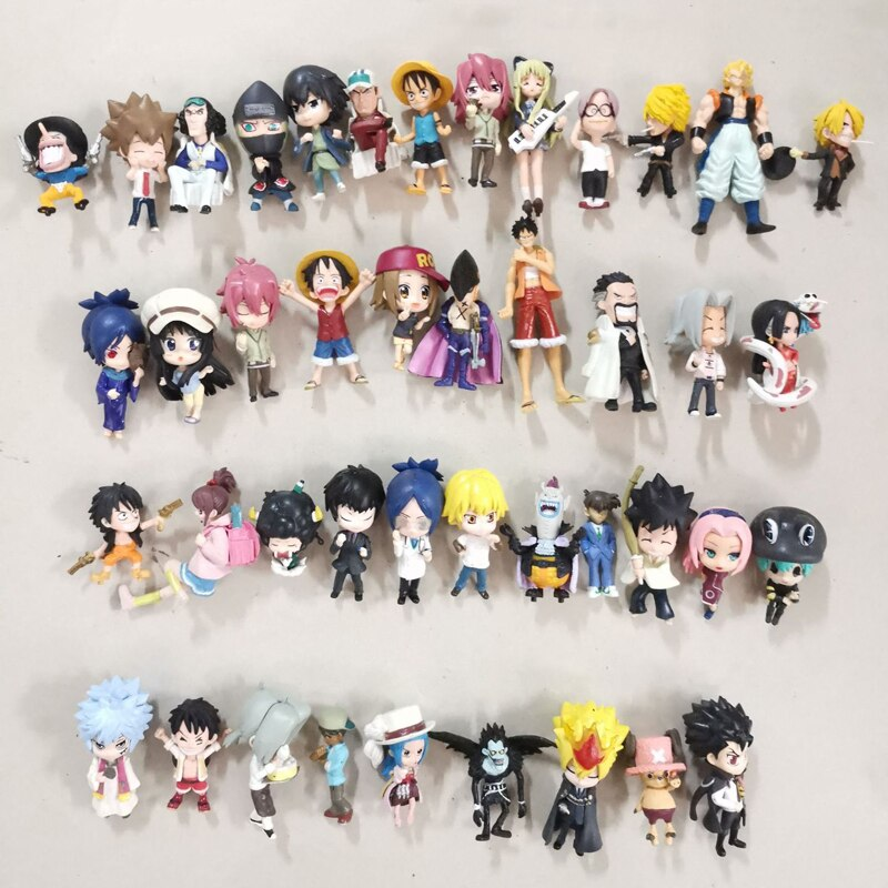 30pcs-kawaii-cute-cartoon-mixed-anime-pvc-figures-japan-acgn-comic-game-model-collection-toy-for-boy-girl-kids-adults