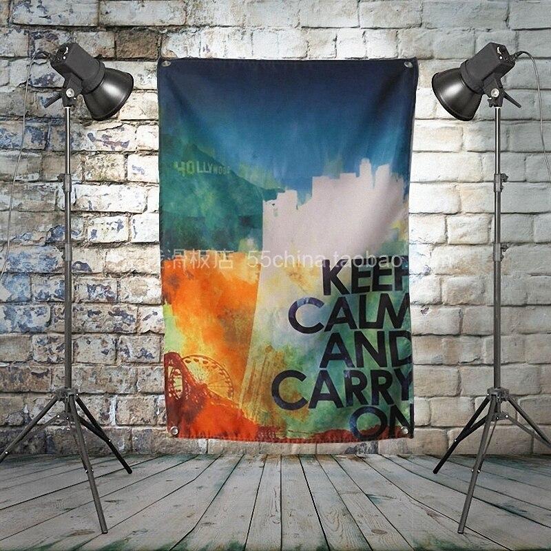 Reggae de Jamaica cartel de banda de Rock Bandera de tela Banner colgando fotos música Festival instrumento Musical tienda Decoración