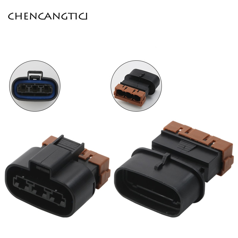 2/10/20/50 Sets 3 Pin Auto Large Current High Power Plug Cable Connector Female Male Wire Harness So