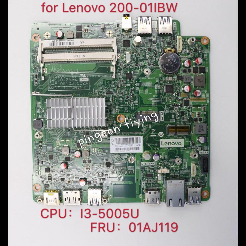 لينوفو 200-01IBW ideacentre اللوحة (نوع: 90FA) I3-5005U ، UMA لا DPK FRU 01AJ119 اختبار موافق
