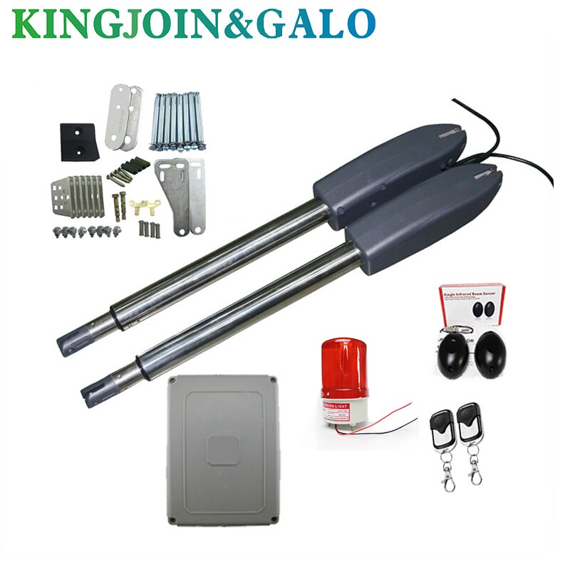 Electric gates / Electric Swing Gate Opener 400 KG Swing Gate Motor With 2 Remote Control wit 1 pair of photocells 1 alarm light electric gates electric swing gate opener 400 kg swing gate motor with 2 remote control wit 1 pair of photocells 1 alarm light