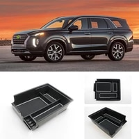 for hyundai for palisade 2020 car armrest arm rest storage box center console container organizer case tray organizer