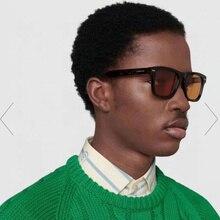 Johnny Depp rectangle Rivet sunglasses women men 2021 red blue yellow leopard wayfaring sun glasses