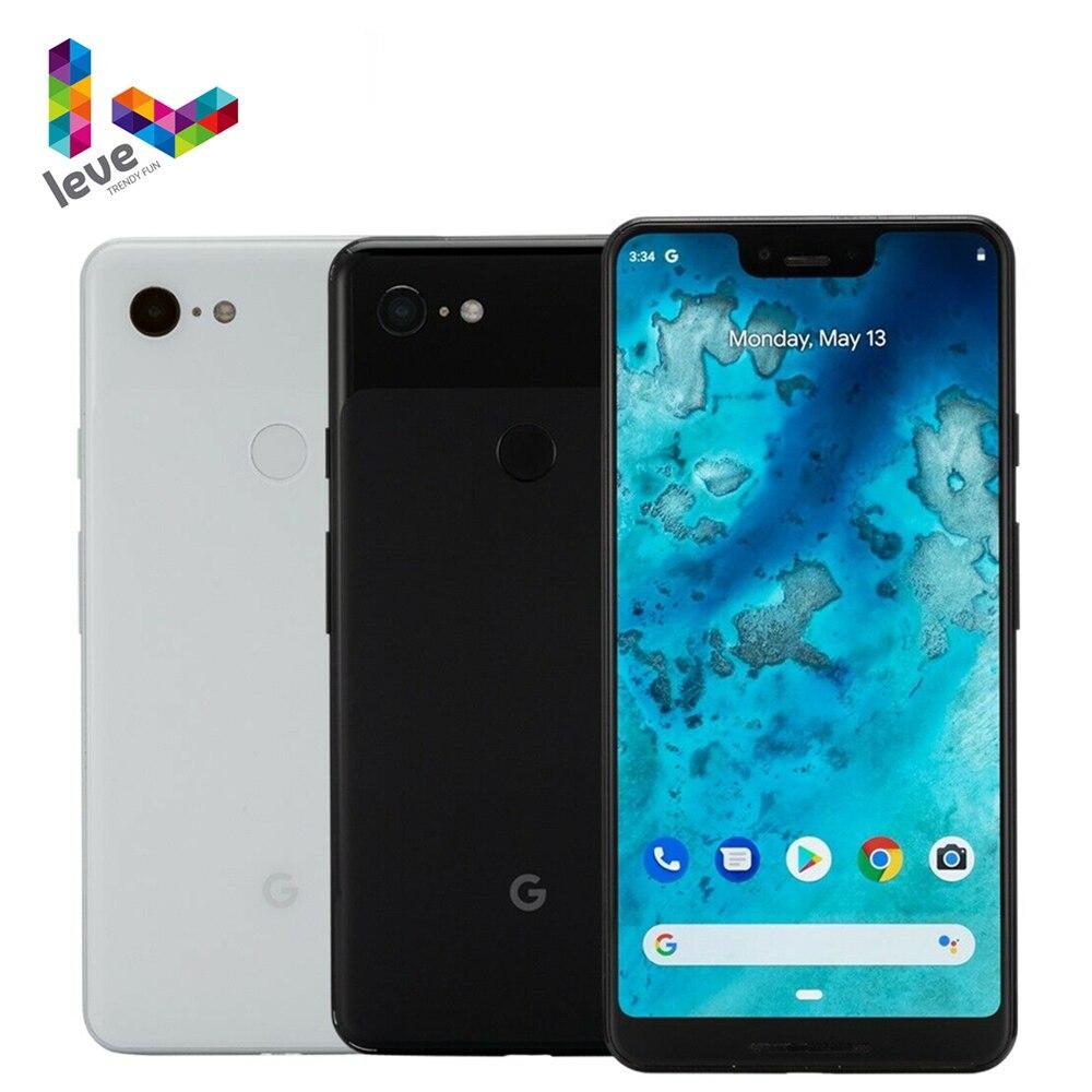 Google Pixel 3 XL США Версия XL3 разблокирован мобильный телефон 6,3 дюйм 4 Гб Оперативная память 64 ГБ и 128 ГБ Встроенная память 12MP Octa Core 4 аппарат не привяза...