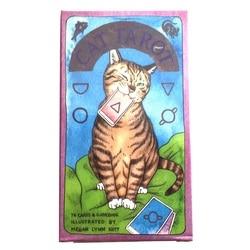 Oracle cat tarot oracle cartão de baralho jogos palying cartões para jogo de festa