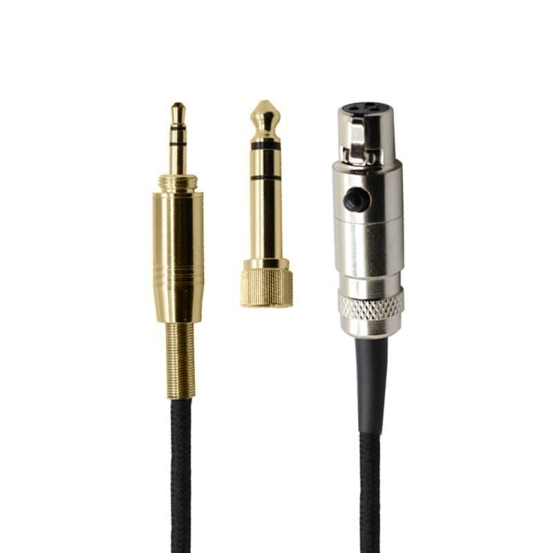 6.3/3.5 milímetros fone de ouvido Cabo De Áudio para AKG Q701 K702 K267 K712 K141 K171 K181 K240 K271S K271MKII K271 Pioneiro HDJ-2000 Fones De Ouvido