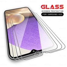 3pcs tempered glass for samsung galaxy a32 5g 4g a12 a02s a02 a52 a72 m62 m02s screen protector sams