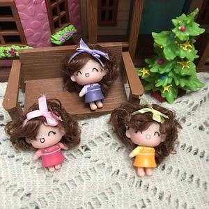 Special Offer cartoon  horse cute girl New Brand Original heads for  Handicraft Material Original Doll Head Fittings  diy