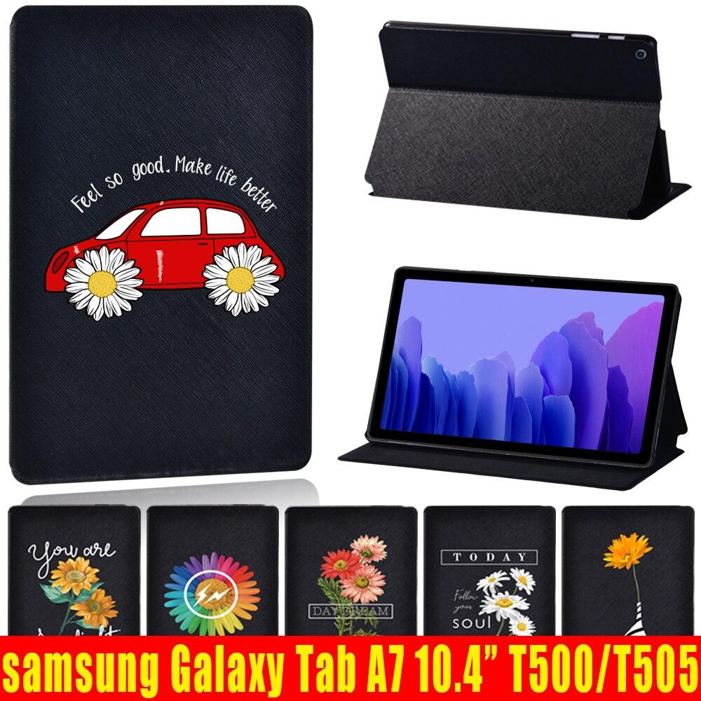 Для планшета Samsung Galaxy Tab A7 2020 чехол, кожзам, чехол для планшета Samsung Galaxy Tab A7 SM-T500 SM-T505 10,4 дюймов чехол + подставка для ручек чехол для samsung galaxy tab a7 2020 чехол для планшета из искусственной кожи для samsung galaxy tab a7 sm t500 t505 t507 10 4 дюймов