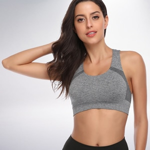 sports bra for women gym seamless sports bra energy in Sports Bras cup padded