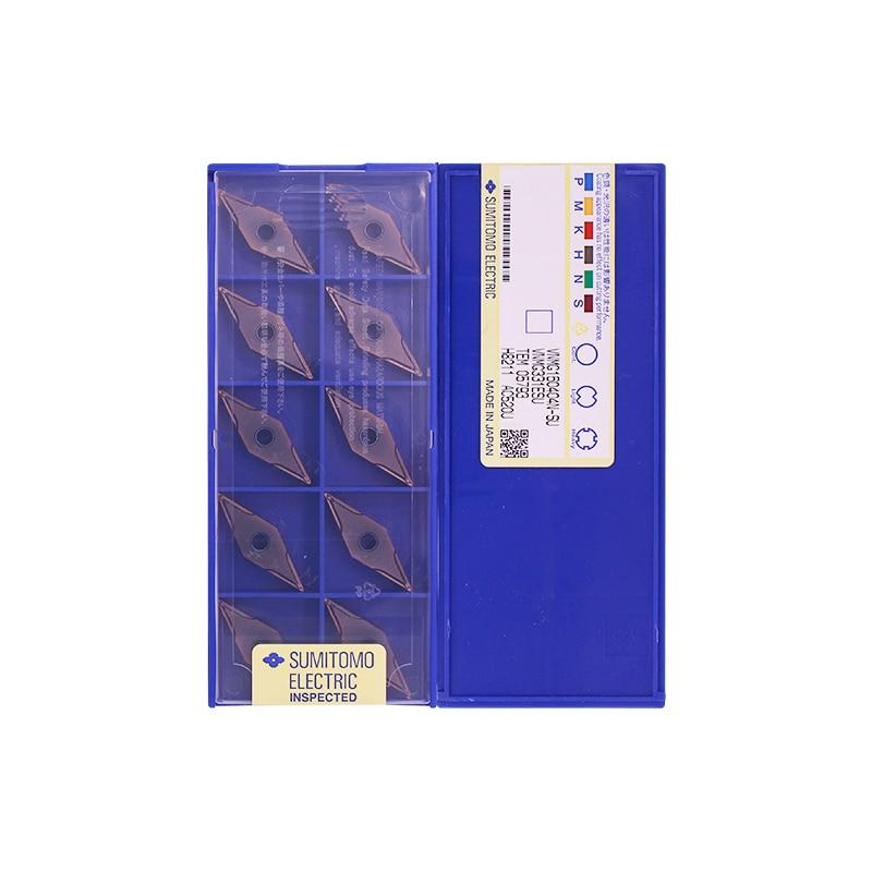 VNMG160404N-SU AC510U/AC520U 100% оригинальный бренд SUMITOMO с лучшим качеством 10 шт./лот Бесплатная доставка