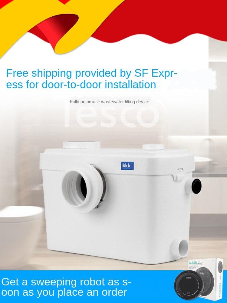 Bomba de elevación de aguas residuales automática para el hogar, cocina, villa, baño, ducha, mesa de lavado, elevador de aguas residuales