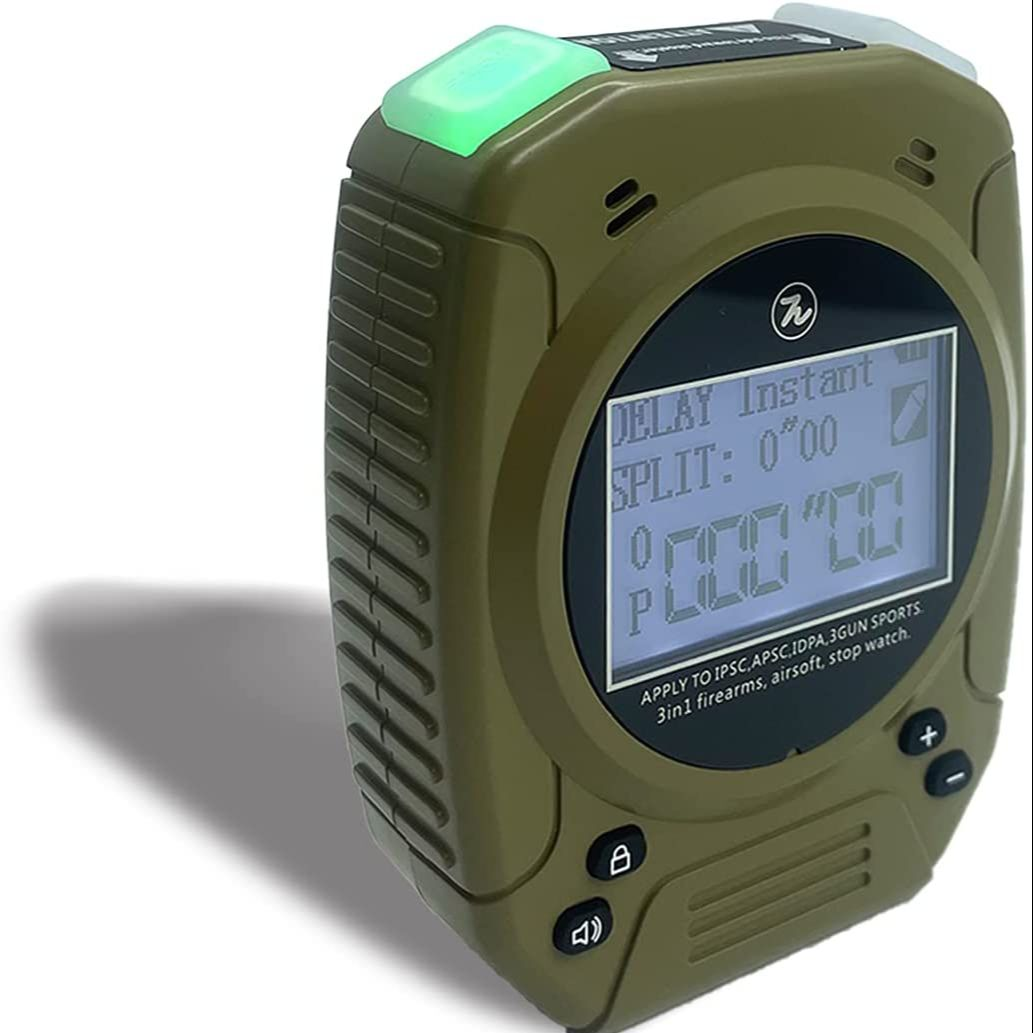 Shot Timer-IPSC Timer, Very Suitable For Practicing Shooting Pistol Dry Fire in USPSA, IDPA, 3 Guns, Steel ChallengeV