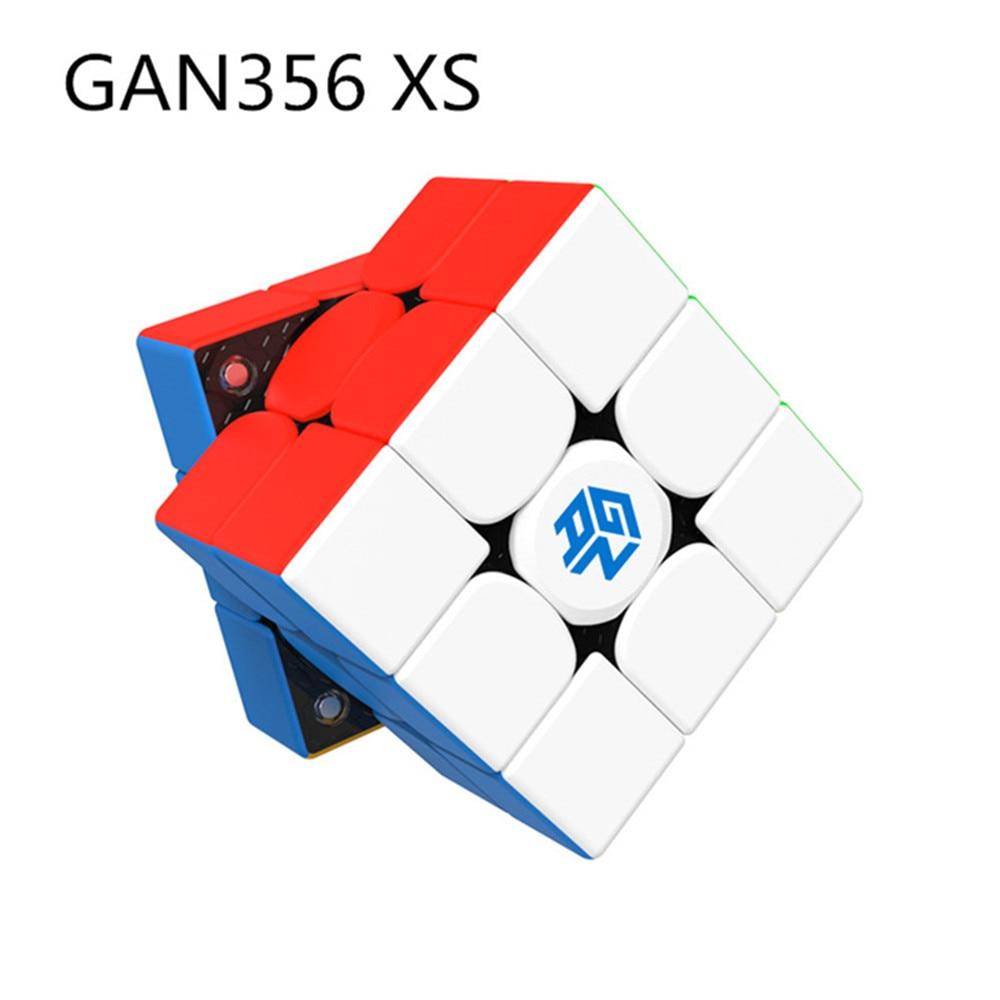 gan 365 air sm 3x3x3 speed cube black color gan air sm magnetic 3x3x3 puzzle speed cube educational learning toys for children GAN 356 Air SM X 3x3x3 Magnetic Puzzle Magic Gans Cube Professional Gan356 XS  Cube Magico Gan354 M Magnets Cube Gan356 RS