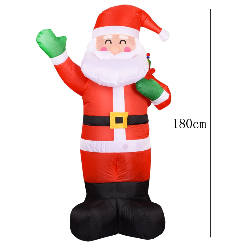 Inflatable Santa Claus Inflatable Toys Outdoors Christmas Decorations for Home Yard Garden Decoration Merry Christmas enlarge