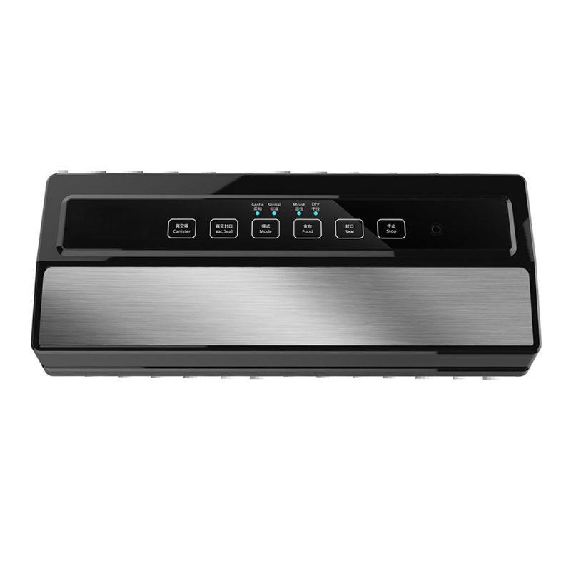 Vacuum Sealer Machine, Automatic Food Sealer for Food Savers w/Starter Kit Led Indicator Lights Easy to Clean Dry & Moist U1JE