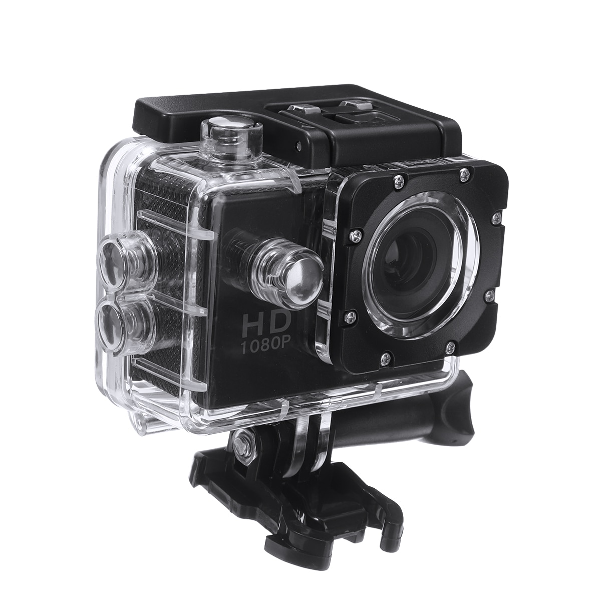 1080P Motorcycle Dash Sports Action Video Camera Full 2.0 Screen Camera 30M Waterproof Grade For Outdoor Riding Diving