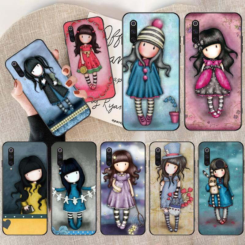 Funda de silicona para teléfono de penthuwan con dibujo adorable Santoro Gorjuss para Redmi Note 8 8A 7 6 6A 5 5A 4 4X 4A Go Pro Plus Prime