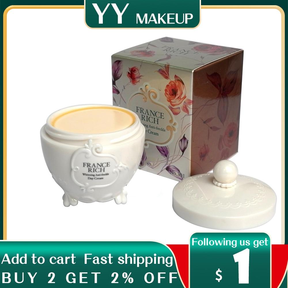 wholeslale & retail france rich whitening anti freckle day cream 20g/pcs 12pcs/lot