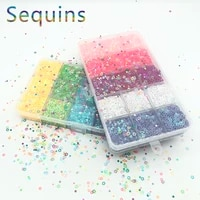 hollow heartstar out nail embellishments loose sequins for crafts handcraft decoration fill glitter star paillette diy material