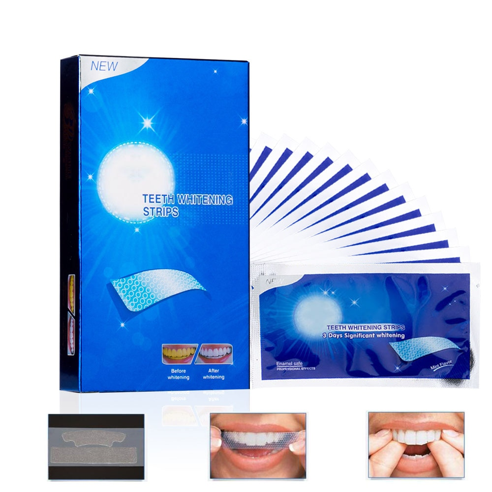 Asequible de blanqueamiento Dental avanzada de blanqueamiento Dental cinturón claro limpieza e higiene bucal doble elástico diente blanqueador cinturón