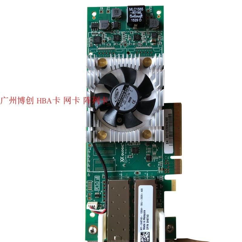 Qlogic R930 Duplo-porto 16g fc Hba Cartão Original Qle2662 R740 R630 R730