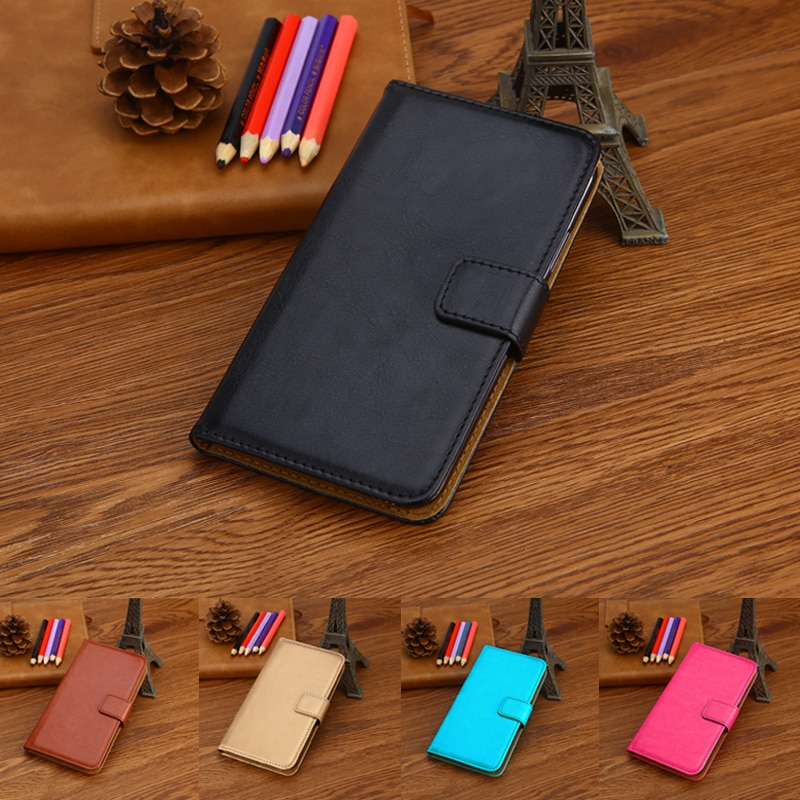 Para Cubot Dinosaur H2 X18 CheetahPhone Rainbow 2 R9 Magic Note Echo Plus Cartera de cuero PU con ranura para tarjeta funda para teléfono