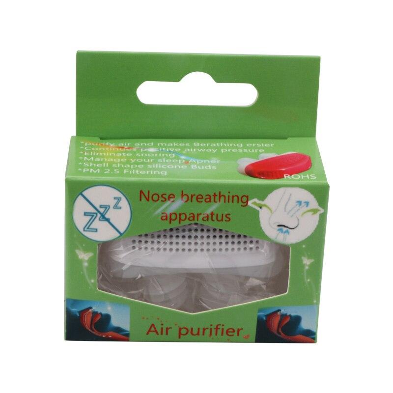 Nasal congestion stopper nose purifier mini nasal congestion respirator sleep anti-snoring nose clip