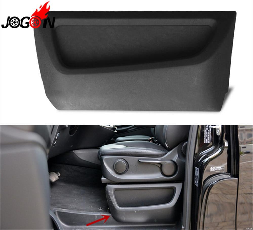 Interior Car Seat Slit Gap Pocket Slot Storage Glove Box Holder Container For Mercedes Benz V-Class Vito Metris Viano W447 2015+