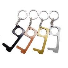 Ouvre-porte de sécurité sans contact en laiton, kit douverture pour clé, Protection de sécurité, bouton dascenseur, ouvre-porte de sécurité