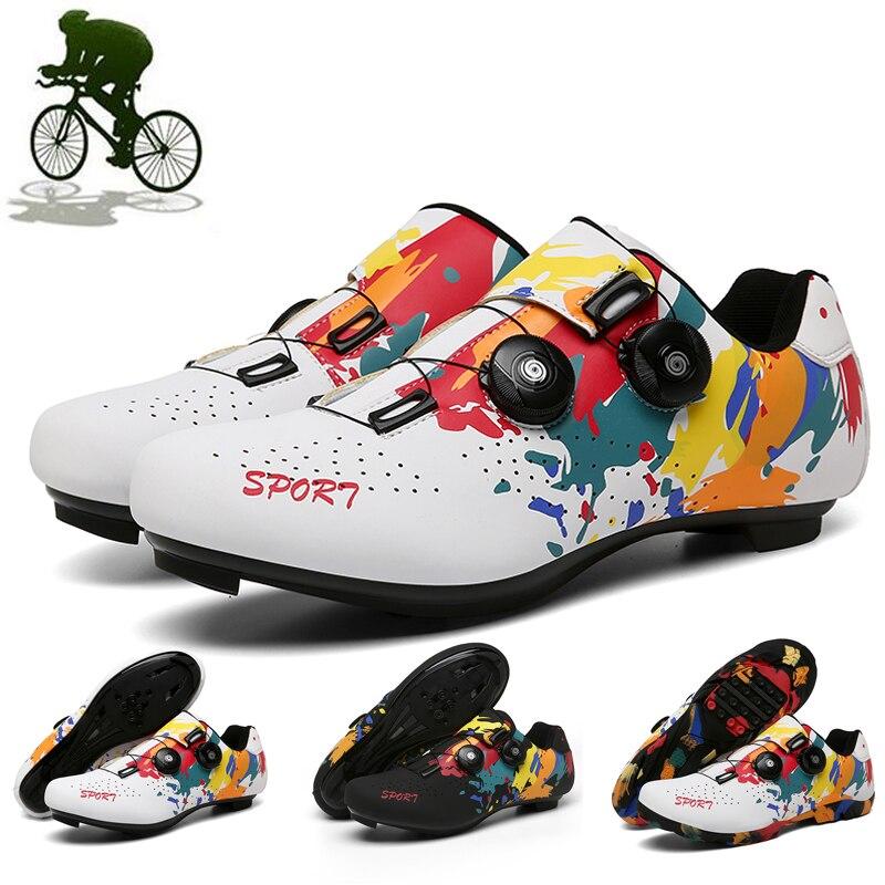 2020 nuevos zapatos de Ciclismo hombres mujeres zapatos de Ciclismo de Carretera...