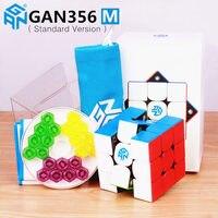 GAN356 M Magnetic Magic Speed Gan Cube Stickerless GAN356M Magnets Professional GAN 356 M Puzzle GANS Cubes