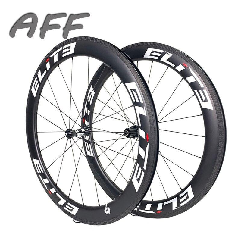 עלית DT 350S 700c פחמן גלגלי 20-24H כביש אופני גלגל 25mm 27mm רוחב צינורי נימוק מכריע ללא פנימית סיבי פחמן אופניים זוג גלגלים