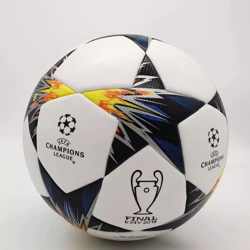 5 размеров, качественный футбольный Стандартный Футбольный Мяч, футбольный мяч из ПУ, новинка, футбольные мячи лиги, спортивный мяч, футболь...