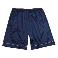 Mens Silk Satin Pajamas Pyjamas Pants Lounge Pants Sleep Bottoms Size L-3XL Plus 3 Colors Plus Size