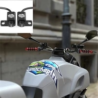 motorbike accessories headlight switches brake fog lights on off on waterproof extra switch button motorcycle switches black