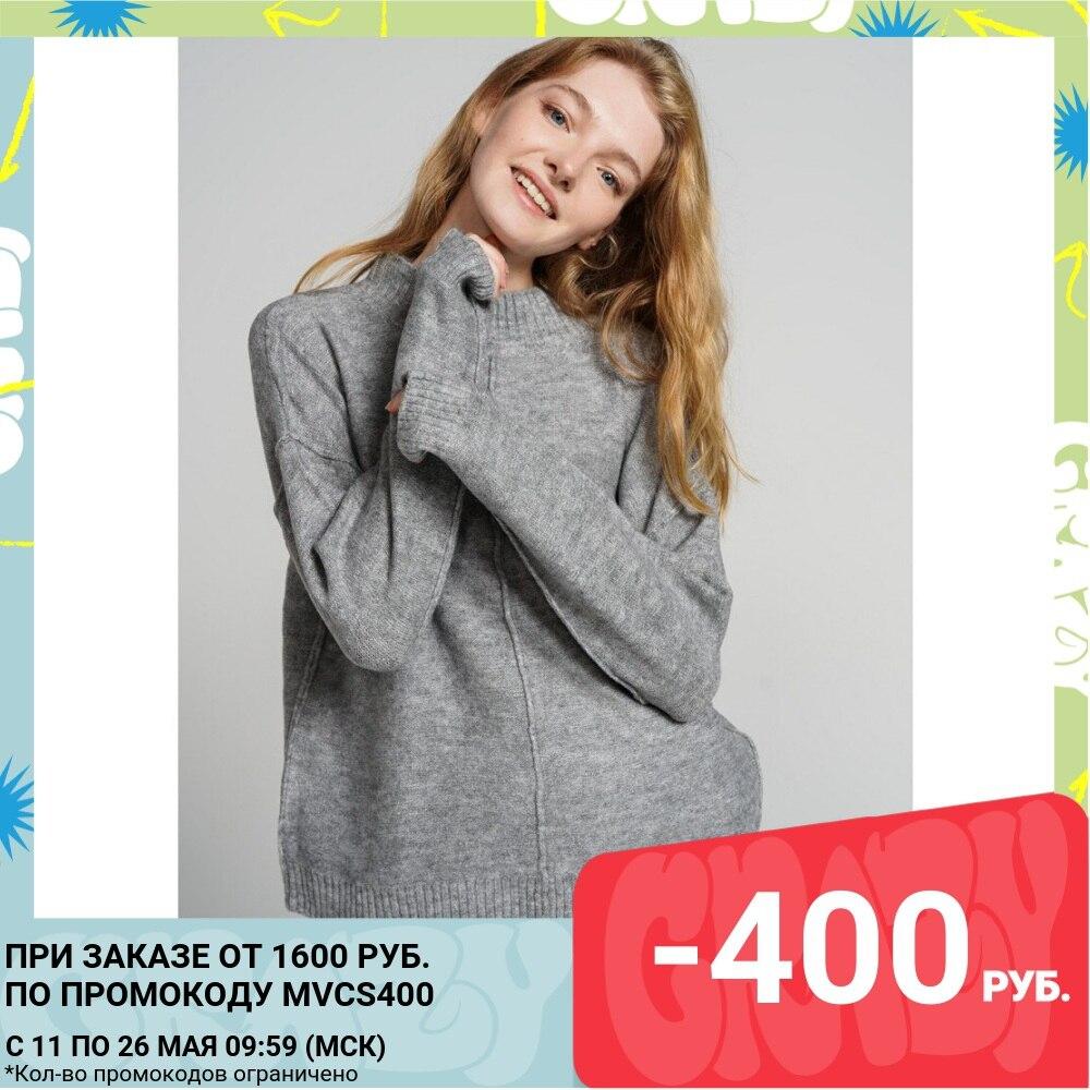 Джемпер Женский ТВОЕ темно серый меланж FASHION FW2020 21