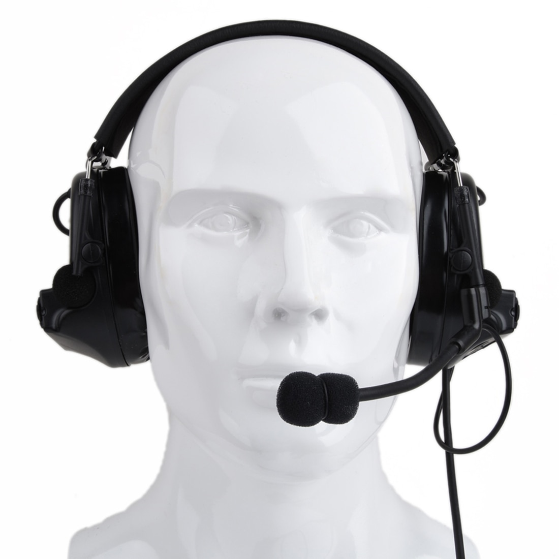 Z-TAC Comtac II auriculares tácticos Anti-ruido reducción de ruido orejeras protección auditiva-Negro