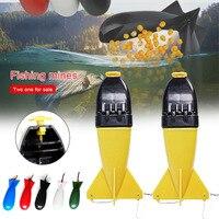 2Fishing Bait Float Bait Long Shot Rocket Spod Bomb Tackle Feeders Fishing Carp Pellet Rocket Feeder Holder Maker Tackle Camping