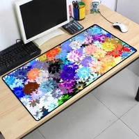 xgz mousepad lock multicolored flowers oil painting game mouse pad laptop keyboard pad office mousepad game accessories desk mat