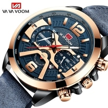 VAVA VOOM Luxury Men's Wrist Watch Quartz Clock Male Classic Design Waterproof Watches Mens Multifun