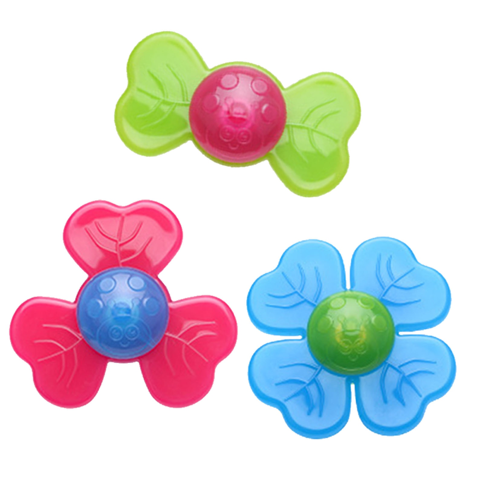 Spinning Top Baby Sucker Top Toy Creative Bath Swimming Water Toys Sucker Suction Cup Fun Game Baby Teether Toys enlarge