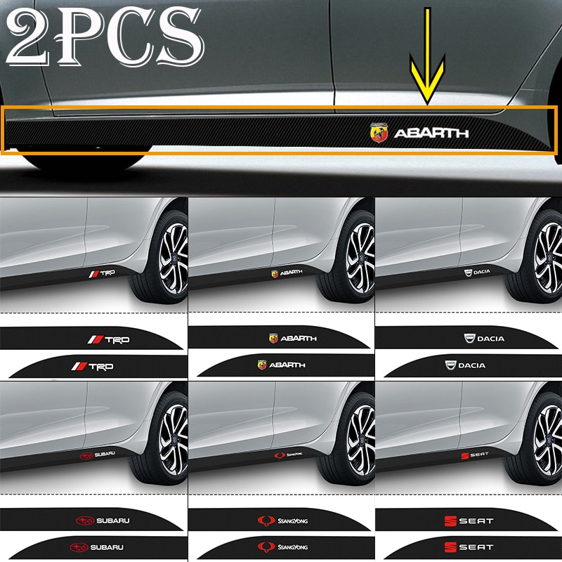 Автомобильная наклейка с логотипом из углеродного волокна для Lexus LS GS IS 1 2 3 EX SC RX UX IS250 IS300 RX350 CT200H IS300H, 2 шт.