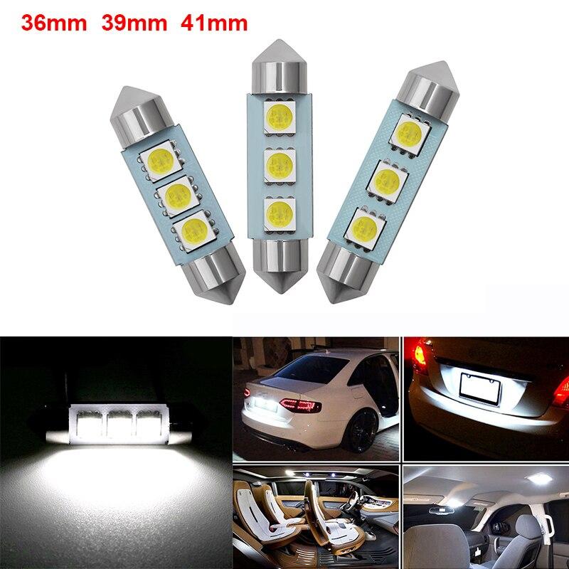 2 шт. C5W CANBUS Светодиодная Автомобильная интерьерная купольная лампа для чтения для Skoda Octavia A5 A7 2 Fabia Yeti BMW E60 F30 X5 E53 Inifiniti