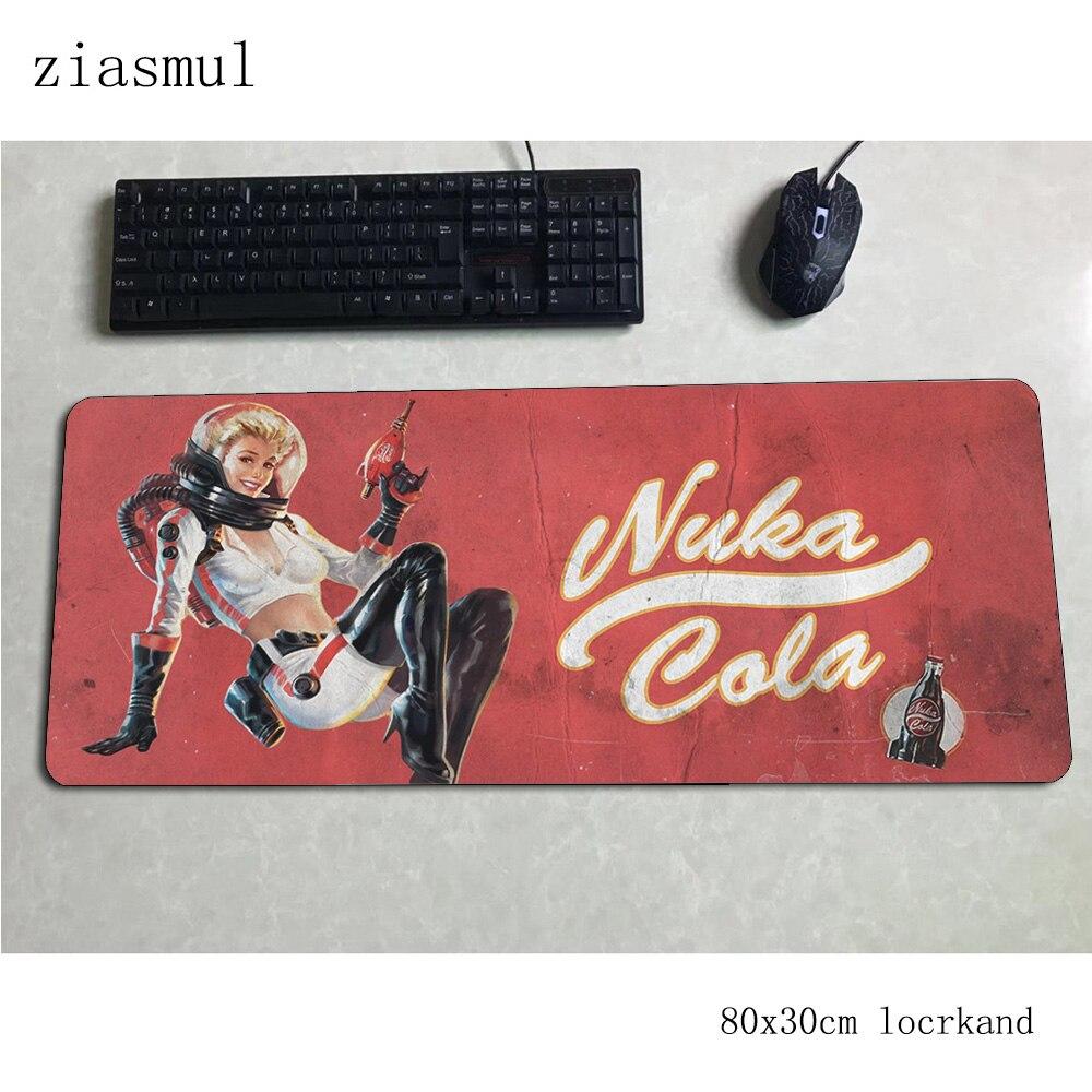 Jogos de Computador Fallout Mouse Esteiras Presente Computador Esteira Jogos Acessórios Personalizados Mousepad Teclado Gamer Pad 80x30cm