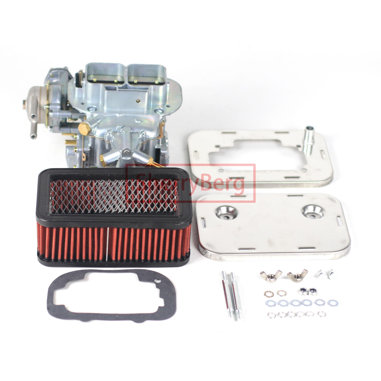 SherryBerg Carburetor + فلتر الهواء ل Weber 32/36 DGAV لتويوتا بيك اب سيليكا كورونا 20R 22R Datsun 510 610 620 بيك اب 200SX