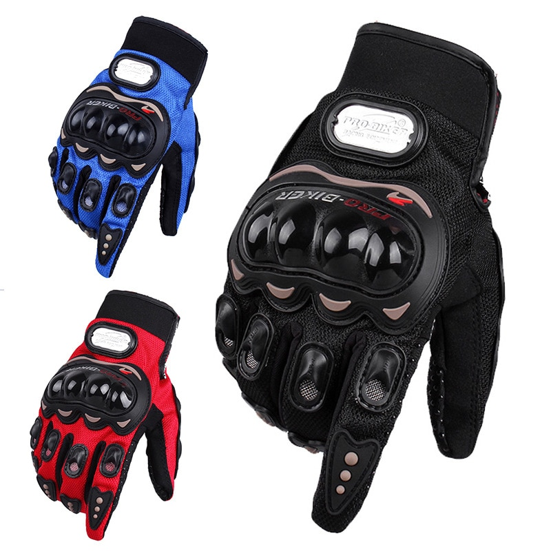 Motorcycle Riding Gloves Men's Racing Motorcycle Four-Season General Knight Gloves Fall-Proof Skid-P